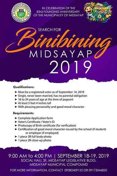 binibining midsayap 2019 banner